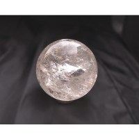 quartz crystal ball polished minerals