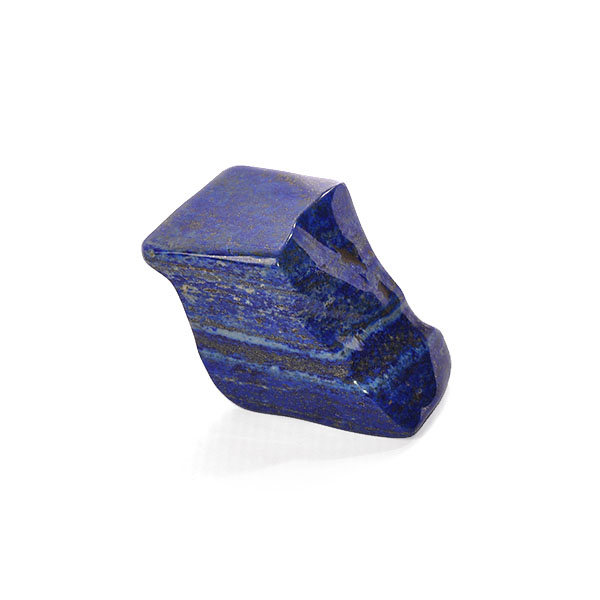 rich blue coloured lapis lazuli polished carving