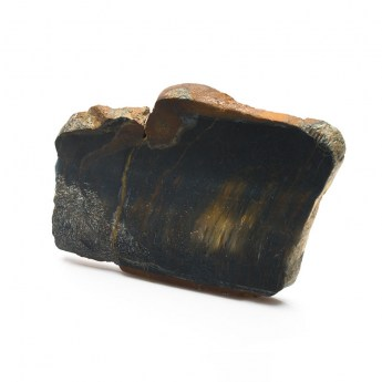 slice of the mineral black tigers eye