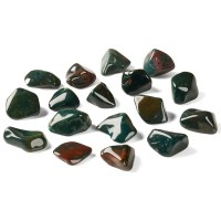 collection of small bloodstone crystals