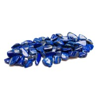 collection of lapis lazuli tumbled stones