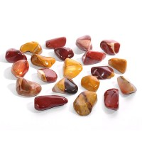 colourful mookaite tumbled stones