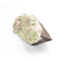 prehnite rock rough minerals geology