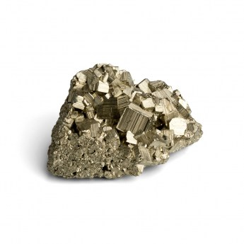 pyrite mineral cluster