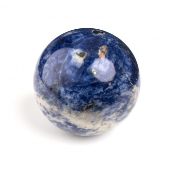 large sodalite mineral sphere