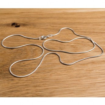 fine sterling silver snake chain with lobster clasp