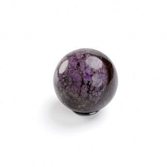 polished sugilite sphere