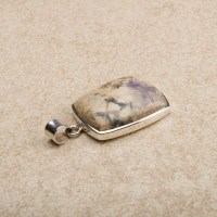 tiffany stone gemstone pendant crafted in sterling silver