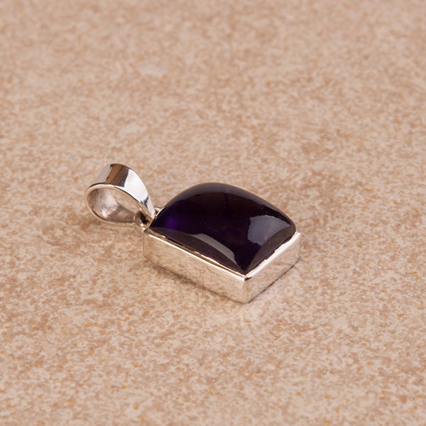 Amethyst pendant mounted in sterling silver unbeatable value small amethyst pendant encased in sterling silver small aloadofball Gallery